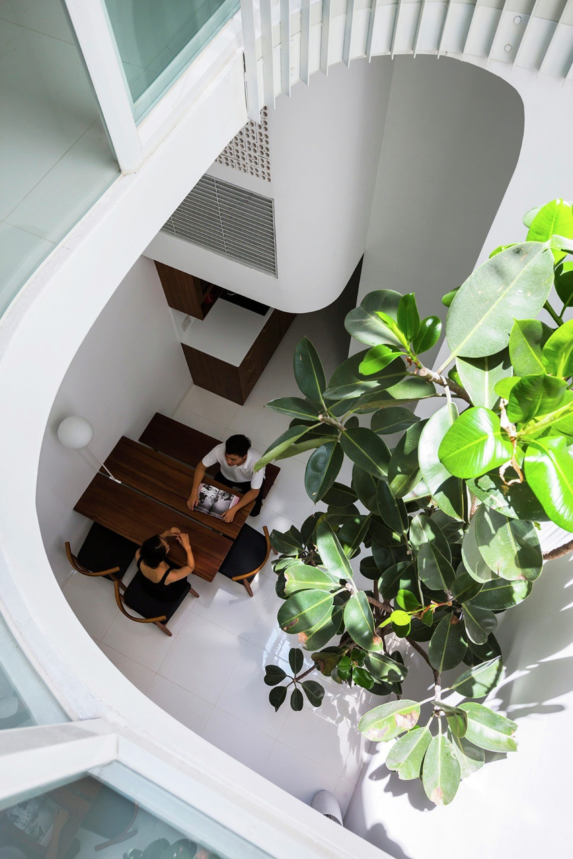Saigon: ampi spazi in una piccola casa