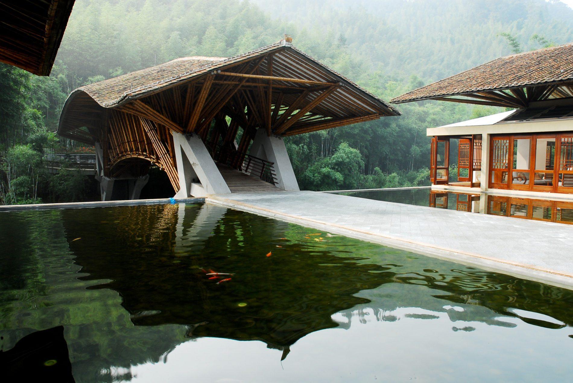 Bambù: gli utilizzi nell'architettura