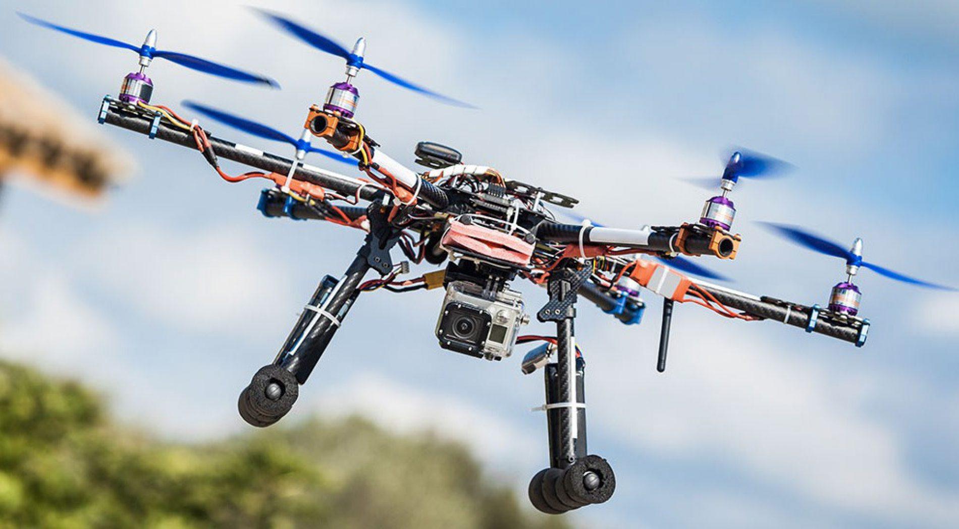 Aumenta l'uso dei droni nel settore edile