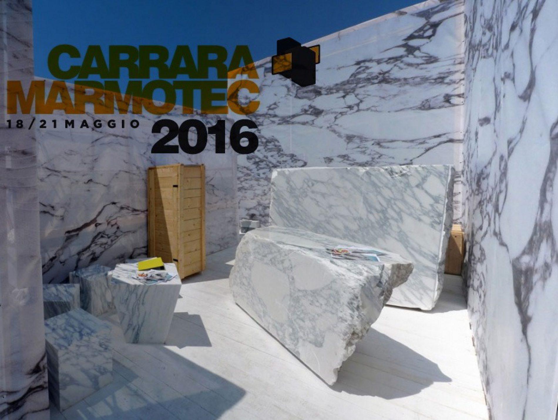 Fiera Carrara Marmotec dal 18 al 22 maggio