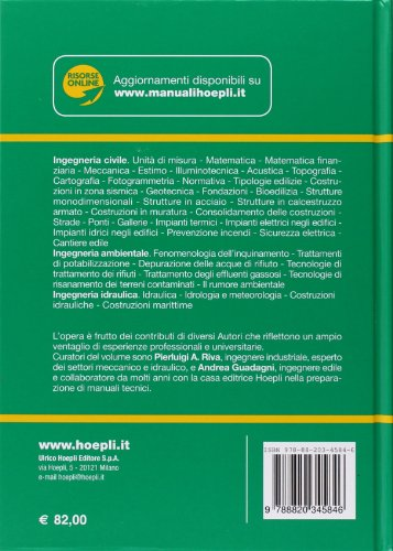 manuale dell ingegnere civile e ambientale aedile rh aedile com manuale dell'ingegnere civile e ambientale usato manuale dell'ingegnere civile e ambientale 2018