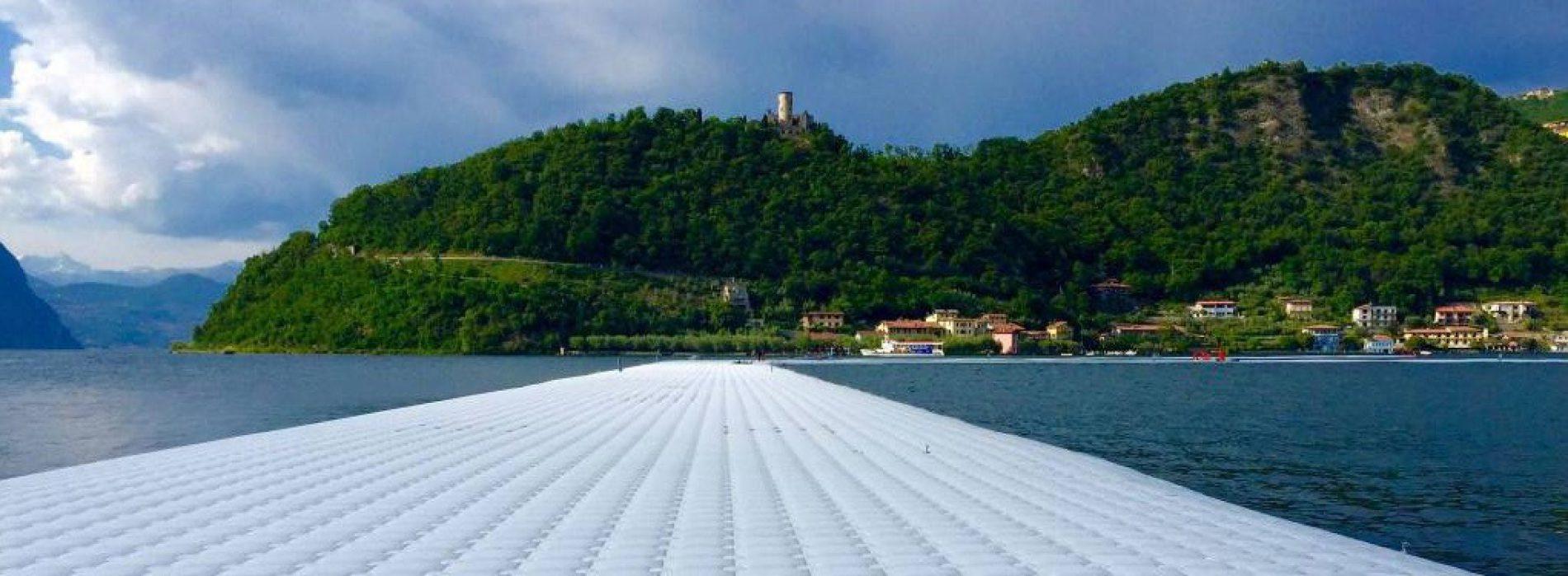 La famosa passerella di Christo sul lago sarà riciclata
