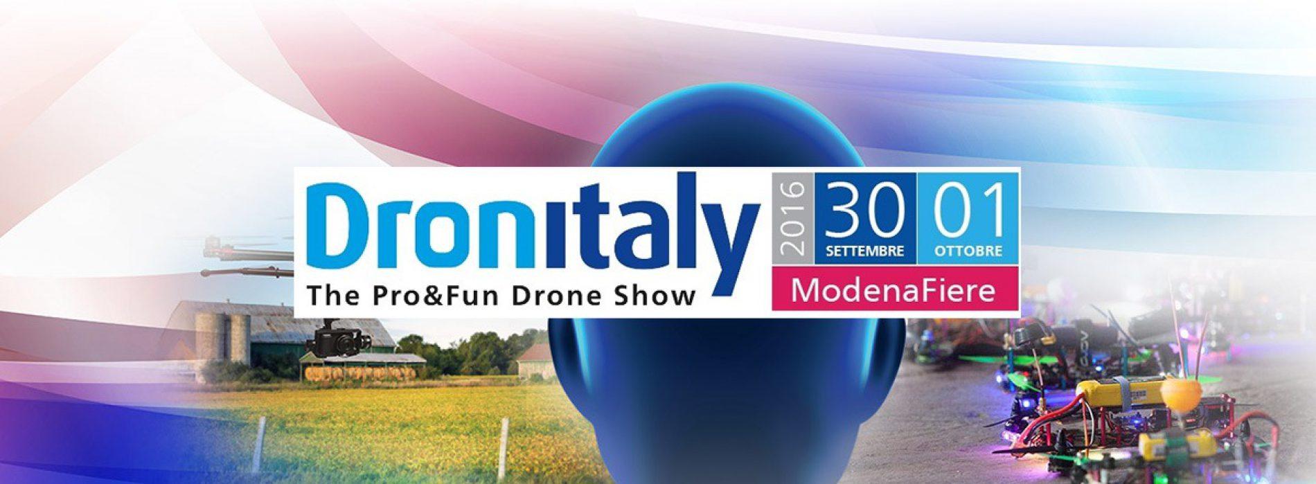 Dronitaly 2016: i nuovi impieghi dei droni nel settore costruzioni