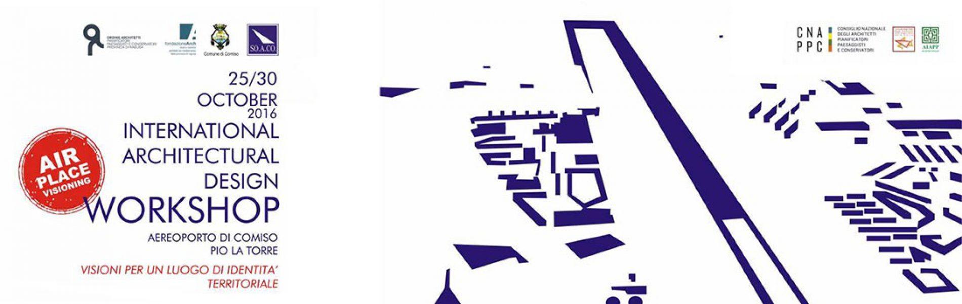 Workshop internazionale sull'aeroporto di Comiso