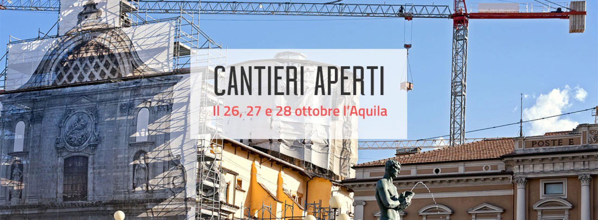 "Officina L'Aquila: ""cantieri aperti"" di ottobre e convegni"