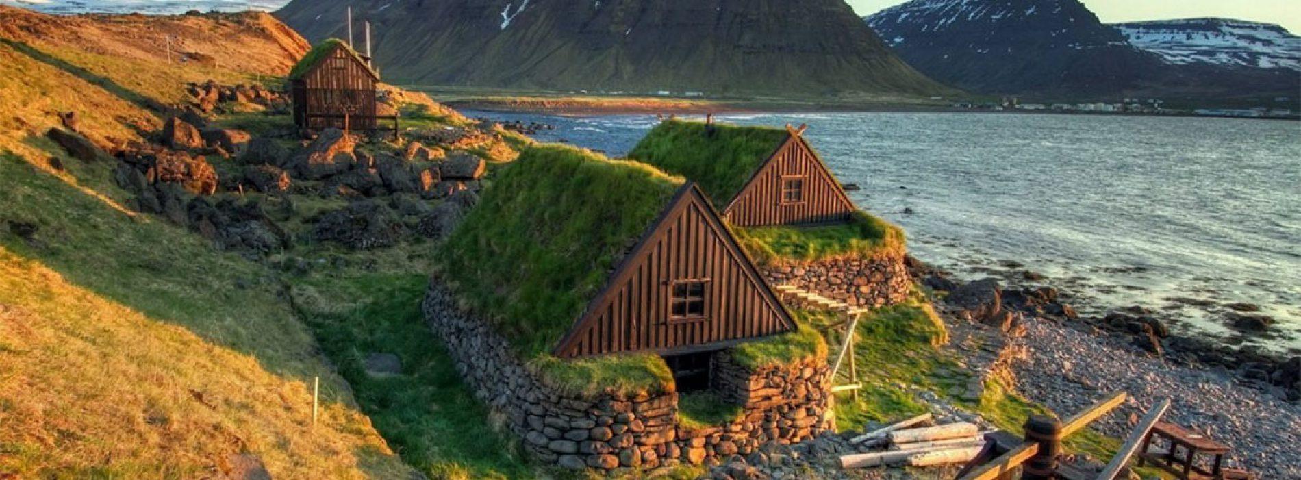 Le Turf Houses: un sistema di bioedilizia perfetto per resistere ai climi rigidi islandesi