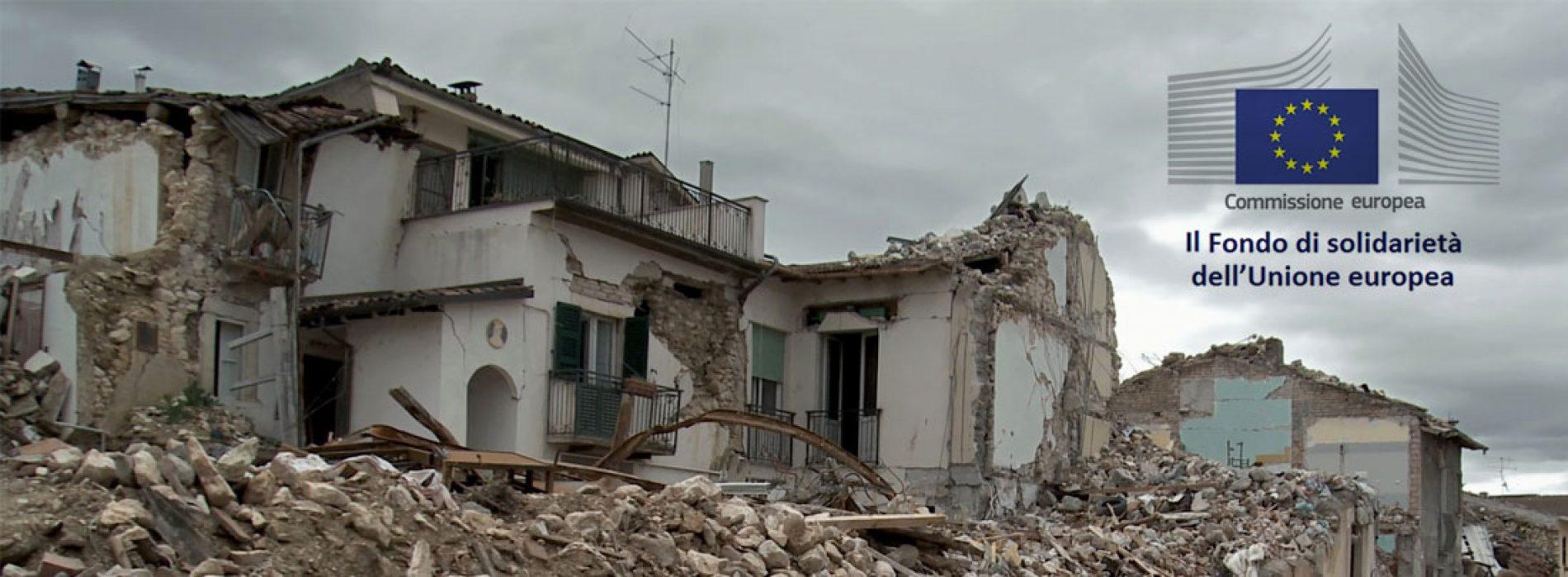 Post-sisma: Fondo di Solidarietà dell'Unione Europea