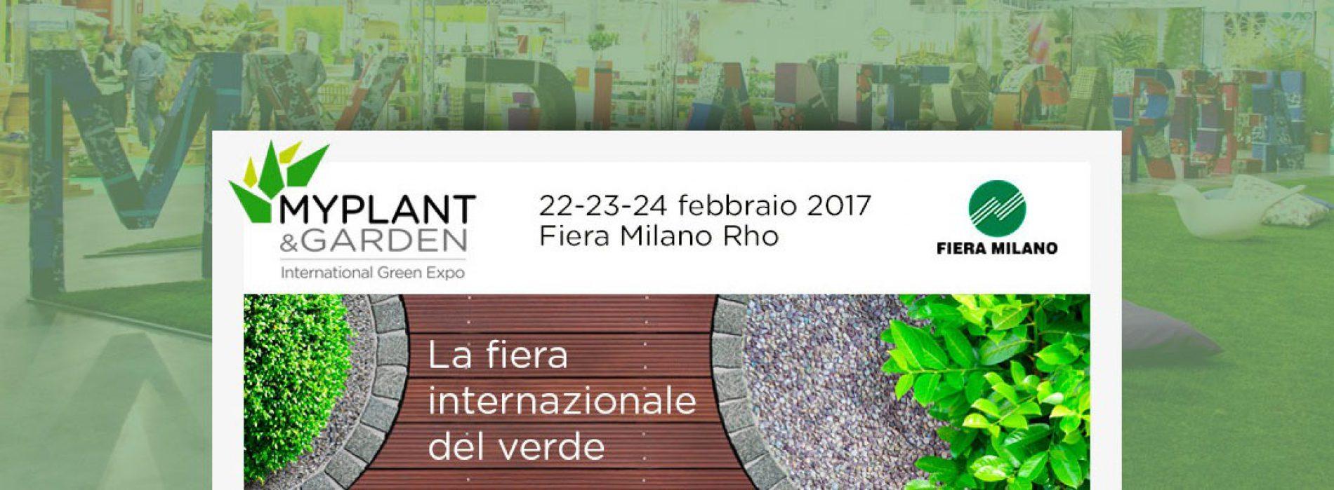 Myplant & Garden: evento dedicato a edilizia verde e giardini
