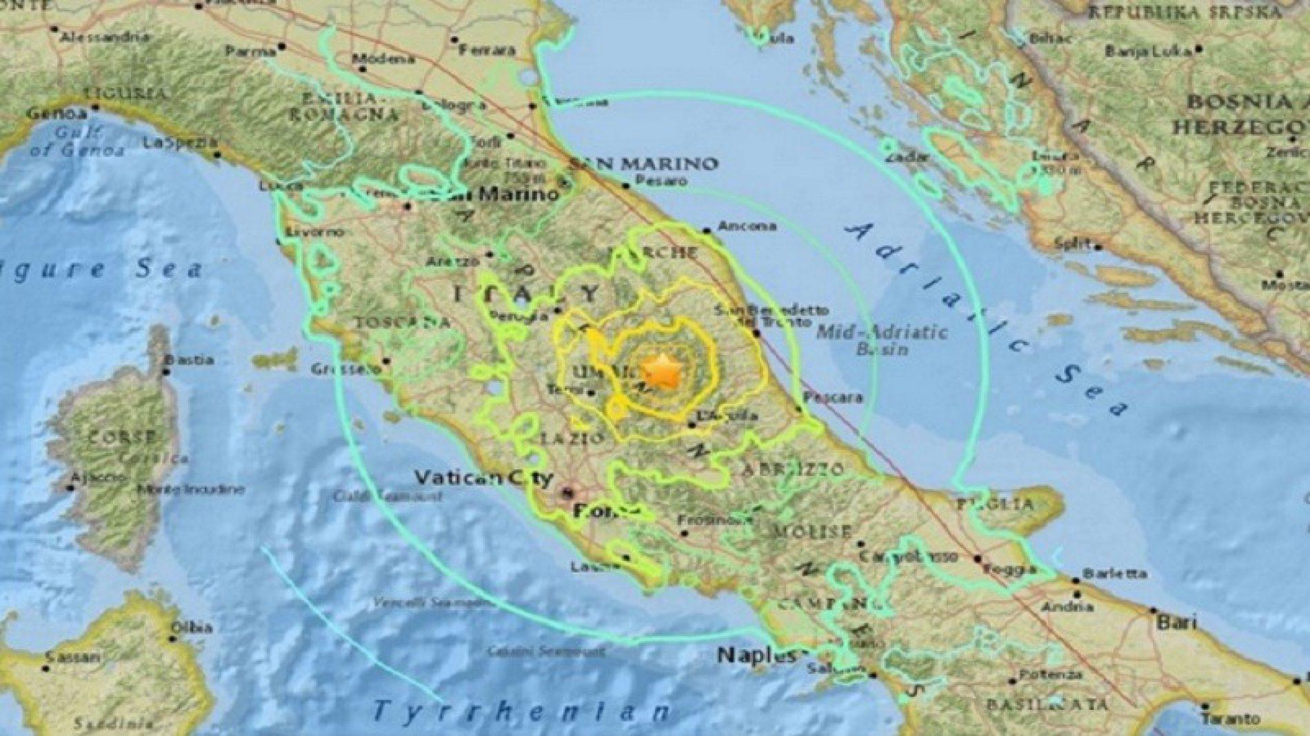 Convegno: Sequenza sismica del Centro Italia 2016-2017.