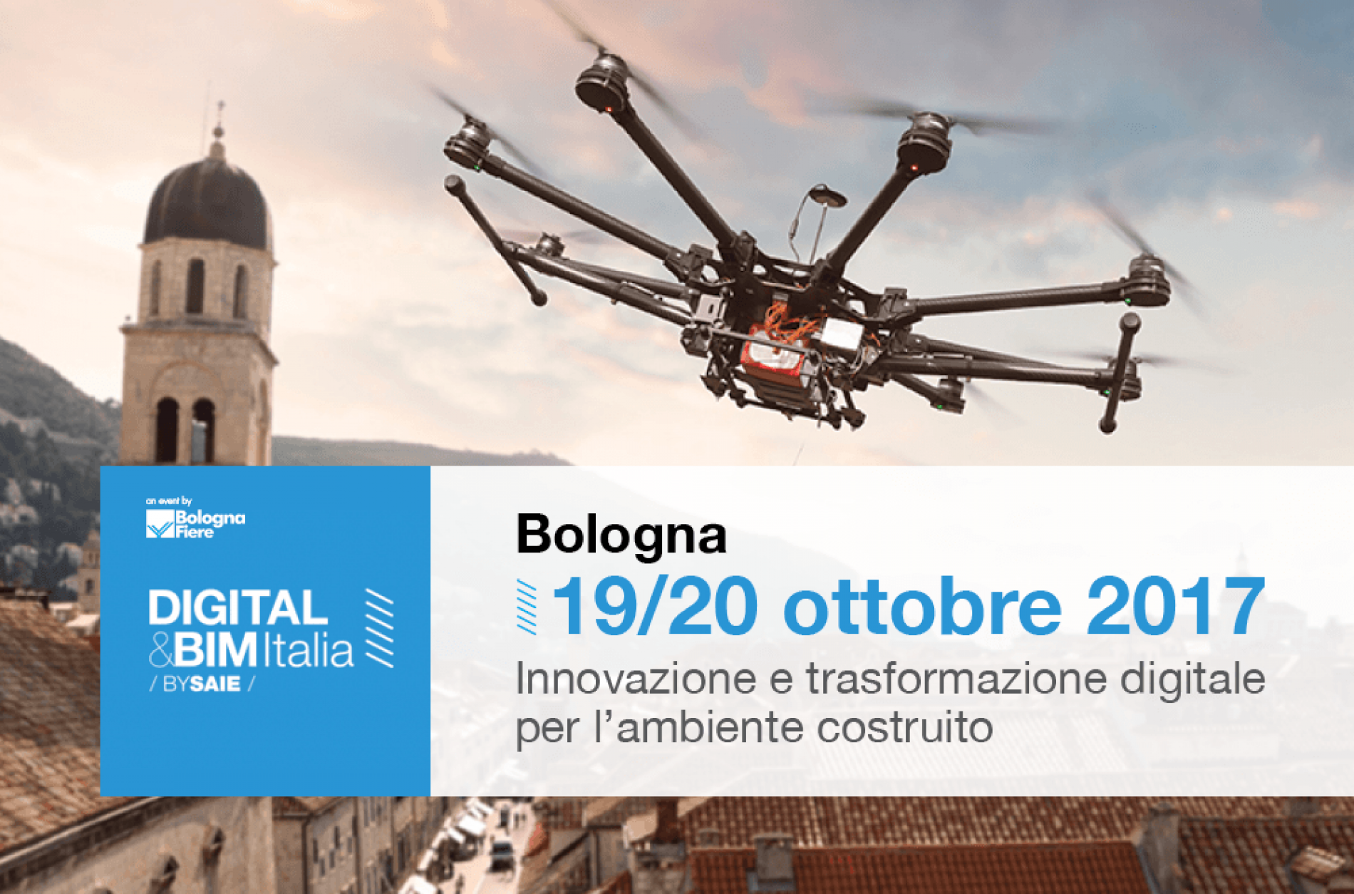 A Bologna la fiera DIGITAL&BIM