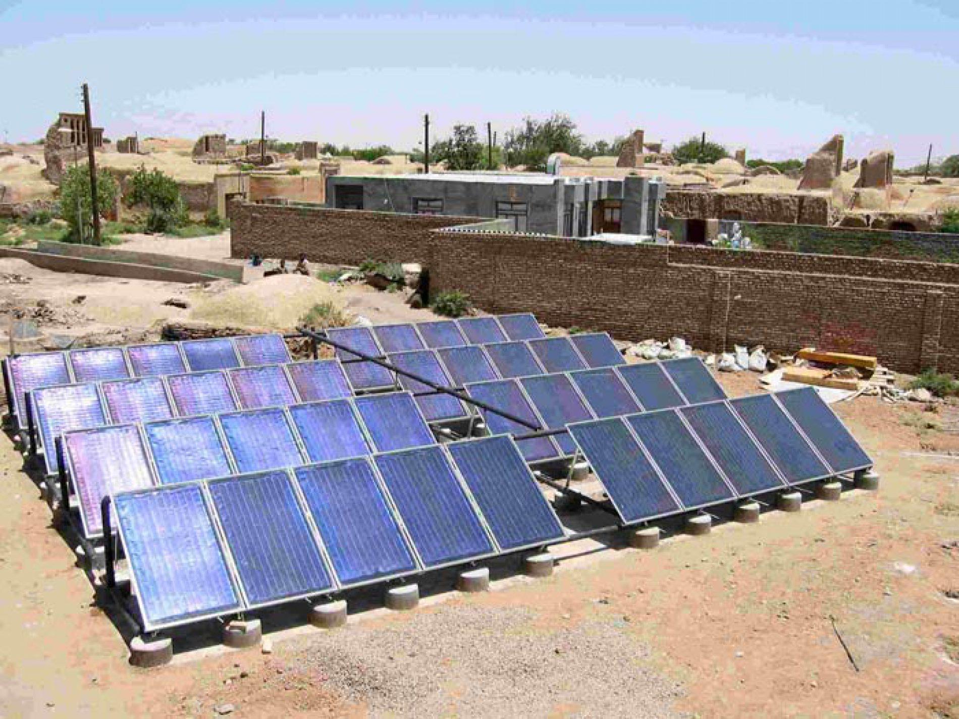 Fotovoltaico italiano in Iran