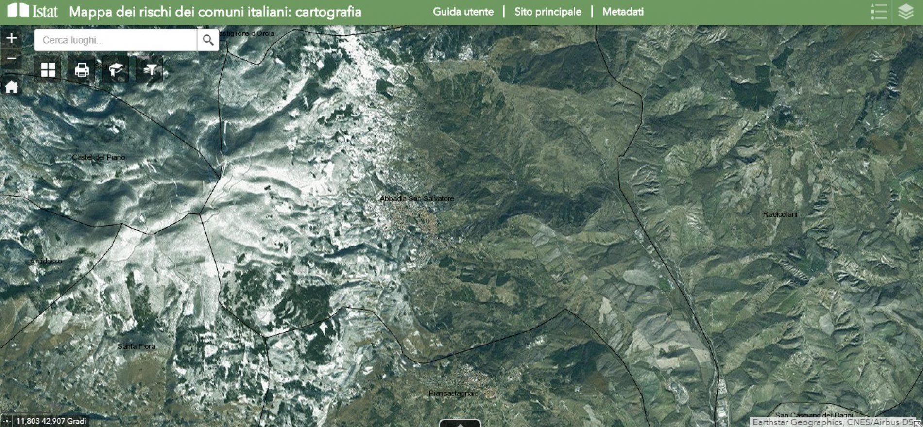 Nuovo sito web sui rischi naturali