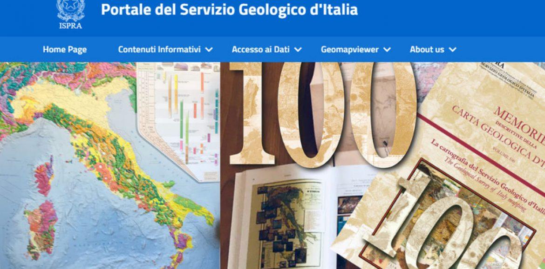Online il Portale del Servizio Geologico d'Italia