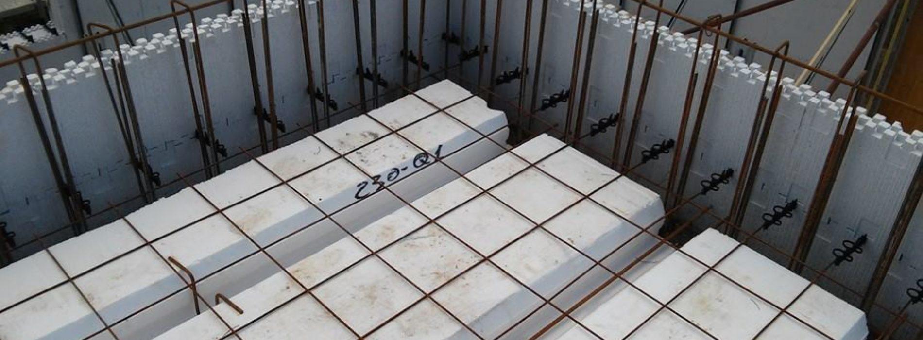 Sistema costruttivo Thermo Muro Carbon ED SYSTEM® ad alta efficienza energetica e antisismico