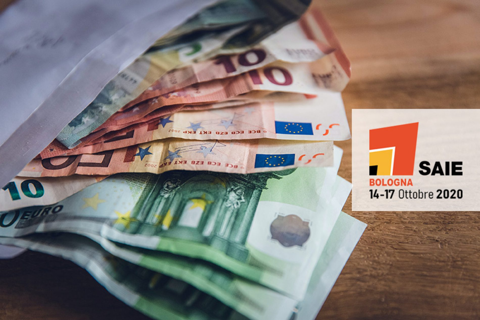 SAIE 2020: 150.000 euro di finanziamenti a disposizione delle aziende per esporre in fiera